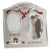 Wedding Anniversary Frames -Ruby