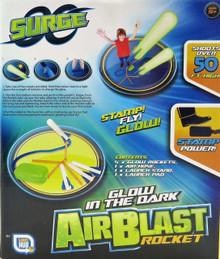 Glow in the Dark Air Blast Rocket