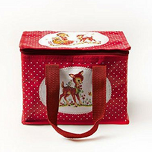 Sass and Belle Lunch Bag Polka Red