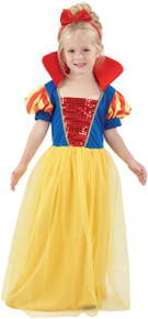 Snow Girl Princess Costume