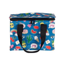 Sass and Belle Patches & Pins Lunch Bag