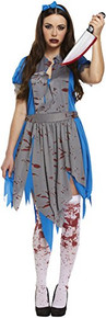 Halloween Adult Horror - Alice in Wonderland - Fancy Dress Costume