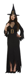 Women Black Witch - Halloween Fancy Dress Costume