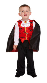 Toddler Vampire Halloween Fancy Dress -(2-3 Yrs Costume)