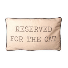 RESERVED FOR THE CAT CUSHION COVER WITH INNER