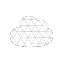 SASS & BELLE CLOUD WIRE WALL GRID CARD HOLDER