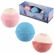 Set of 3 Sweet Scents Enchanted Kingdom Bath Bombs.