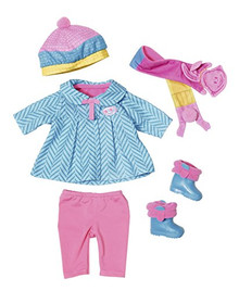 Baby Born Deluxe Cold Days Doll Set