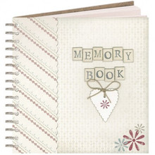 Memory Book  This memory book is perfect for recording all your special memories and keepsakes safe and organized.  Each left-hand page is lined for you to write your notes, while each right-hand page has a large pocket to keep extra bits and pieces such as concert tickets, photos, letters ….  This memory book  comes in a beautiful slim brown box.