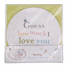 """How Much I Love You"" Baby Shower Paper Bunting"
