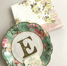 B4E Talking Tables Truly Scrumptious 'E.A.T' Party Tableware Set