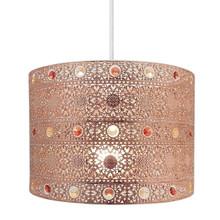 Moroccan Bronze Design Easy Fit Light Decorations (Copper)