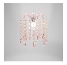Droplet Gem Design Easy Fit Light Decorations ( Pink )