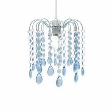 Droplet Gem Design Easy Fit Light Decorations ( Aqua)