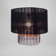 Ribbon & Gems Design Easy Fit Light Decorations (Black)
