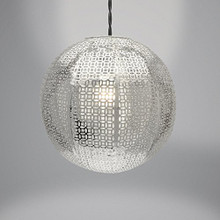 Nouveau Cadiz Design Easy Fit Light Decorations (Silver)