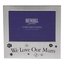 "5"" x 3"" We Love Our Mum Landscape Photo Frame"