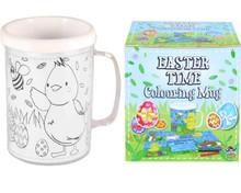 Easter Time Plastic Drinking Mug