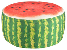 Outdoor Pouffe - Watermelon