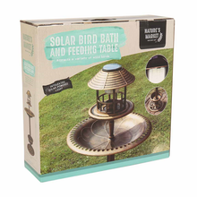 Bronze Copper Effect Solar Powered Bird Hotel
