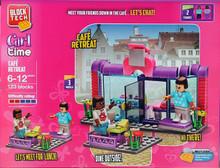 Block Tech Girls Cafe Retreat Toy Construction Bricks
