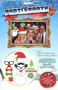 Christmas Xmas Photo Booth Selfies Kit
