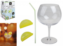 GIN COCKTAIL GIFT SET GLASS & ACCESSORIES