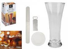 BEER GIFT SET GLASS & ACCESSORIES
