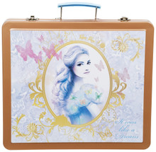 Have endless of fun with Cinderella themed tin art case that is a perfect set for school holidays or staying in on a rainy day. This is ideal for young Cinderella fans providing hours of colouring fun to entertain your little one! It also has the benefit of keeping all of your colouring and stationery set nice and tidy.   Contents  10x colour pencils: 8.5cm   1x paint brush: 1c print   8x paint cakes    1x sharpener: d2.5cm 4c printing  1x sticker sheet: 8*10cm 4c printing  1x book: 17*9cm 4c printing  1x eraser: 10.3g 1c printing  1x ruler: 15cm 4c printing  2x stampers: 5g 1c printing  1x scissor: 6.8g 1c print  16x markers: 9cm   16x cyayons: 8.5cm   1x HB pencil: 17.5cm 4c printing  1x colour box 31*27*4cm 4c printing
