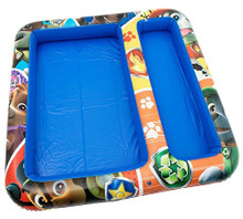 Description  This brilliant square sand and water inflatable playmat will allow your child to really enjoy playing with sand and water at home. Your child can really enjoy getting absorbed in playing with sand and water that will keep them entertained for hours on end!   Contents  Inflatable Sand and Water Play Mat