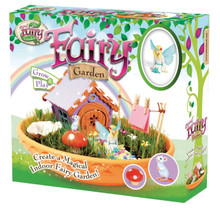 Create a magical fairy oasis with the new indoor Fairy Garden kit from the My Fairy Garden range.  Follow the 8-page activity guide to learn how to construct your enchanted miniature fairy cottage and create a beautiful living garden.  This kit contains everything you need to make your fairy and her friend feel at home, just add imagination and a little sprinkling of the fairy dust included!