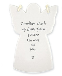 Porcelain Angel - Guardian Angels Up Above