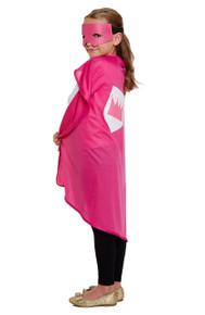 Child Superhero Pink One Size Fancy Dress