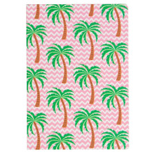 Tropical Summer Palm Trees A5 Notebook