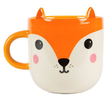 Kawaii Friends Mug Ceramic Fox Gift