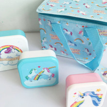 Unicorn Lunch Bag & Lunch Boxes Pack. Children / Adults Food on the Go
