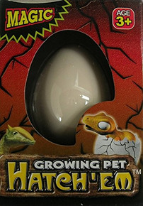 Pack of 2 Hatch-em Hatching Dinosaur Eggs