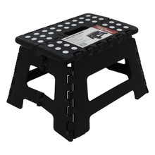 150KG Single Step Plastic Folding Step Up Stools Collapsible Foldaway Large Heavy Duty