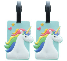 Pack of 2 Enchanted Unicorn Luggage Tags