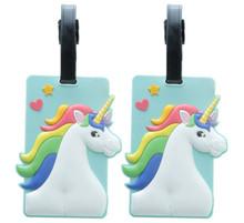 Pack of 2 Enchanted Unicorn Luggage Tags