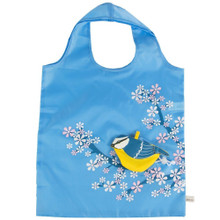 Eco Friendly Foldable Shopping bag - Blue Bird