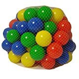 3X 100 Multi Coloured Play Balls