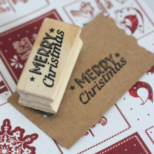 East of India Rubber Stamp - * MERRY CHRISTMAS *