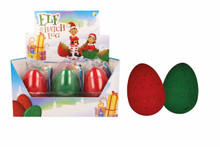 PACK OF 2 Large Elf Hatching Eggs Christmas Toys & Gift