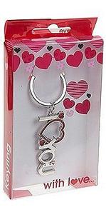 Valentine I Love You Keyring