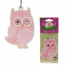 Lauren Billingham Apple Owl Air Freshener Car Office Home Gym Locker Stocking Filler