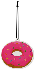 DONUT Scented Hanging Air Freshener Car Bedroom Locker