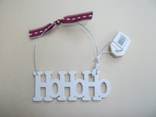 NEW EAST OF INDIA WOODEN 'HOHOHO' SIGN