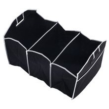 Set of 2- 2 in 1 Car Boot Organiser Tidy Heavy Duty Collapsible Folding Storage