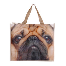 Pug Shopper Bag